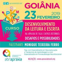 Detalhes do eventos Desenvolvimento da Leitura e Escrita - Desafios e Possibilidades - GOIÂNIA - 23 de Fevereiro