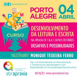 Detalhes do eventos Desenvolvimento da Leitura e Escrita - Desafios e Possibilidades - Porto Alegre - 04 de abril