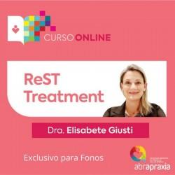 Detalhes do eventos Curso Online ReST Treatment - Exclusivo Fonoaudiólogos