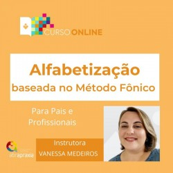 Detalhes do eventos Curso Online Alfabetização baseada no Método Fônico