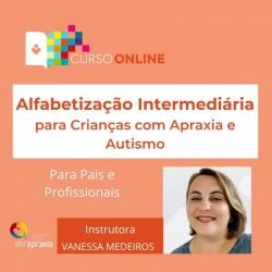 Detalhes do eventos Curso Online Alfabetização Nível Intermediário para Crianças com Apraxia e Autismo