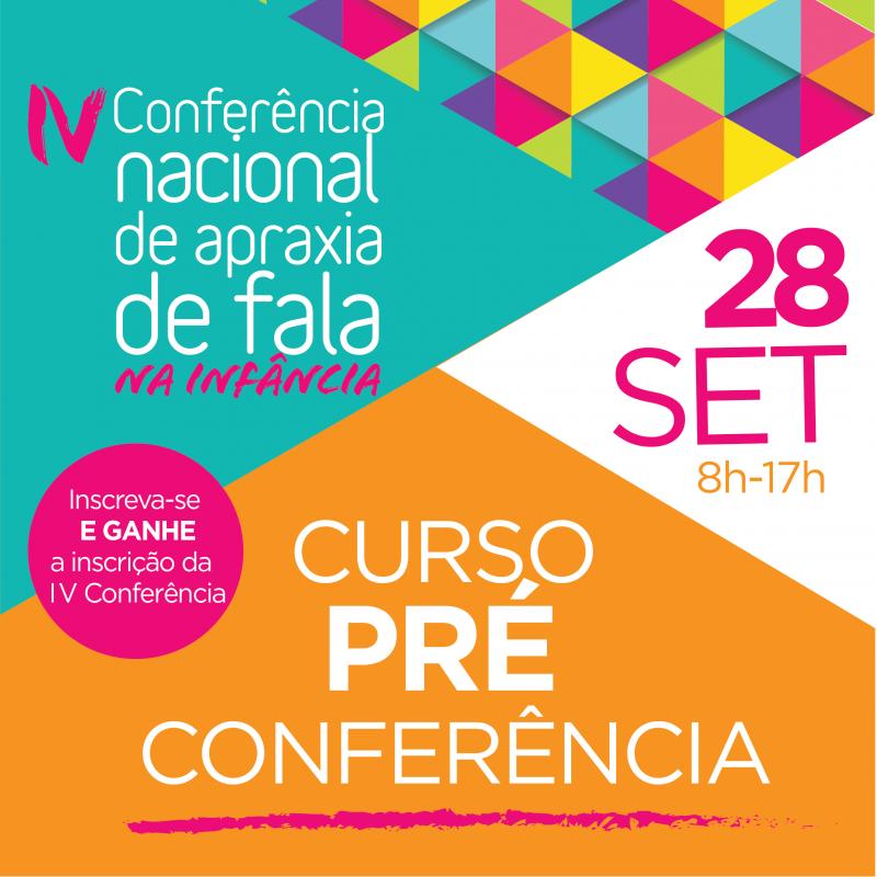 Curso Pré-Conferência Internacional - MS MARGARET FISH