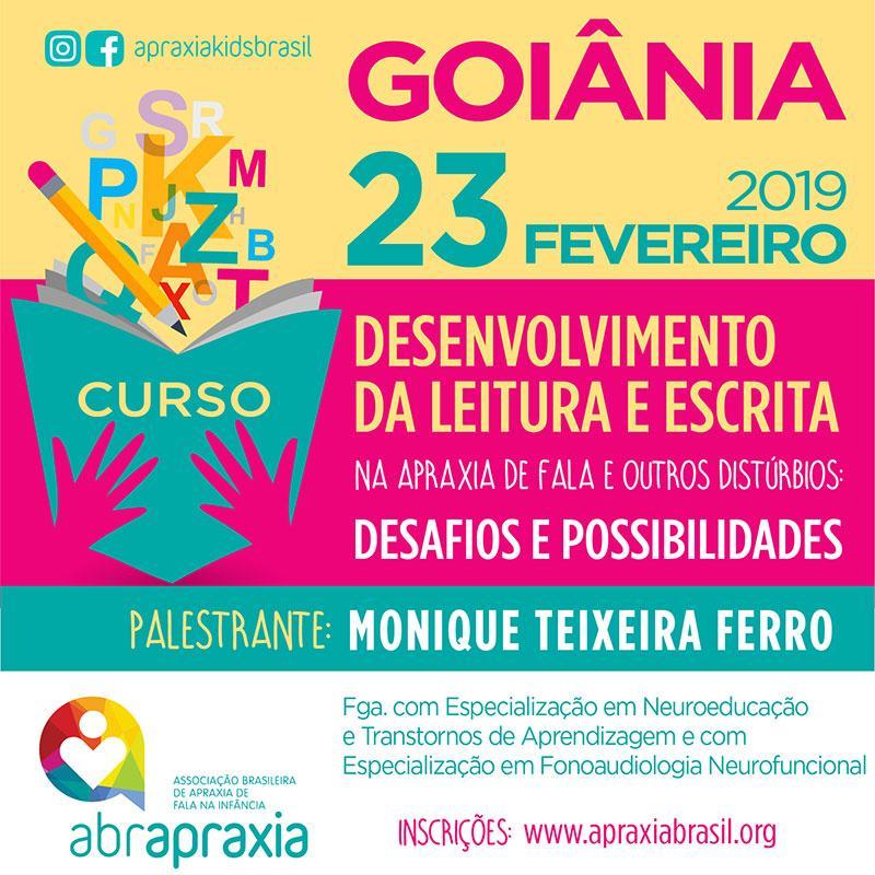 Desenvolvimento da Leitura e Escrita - Desafios e Possibilidades - GOIÂNIA - 23 de Fevereiro